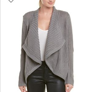 BB Dakota just got back knit front draped cardigan
